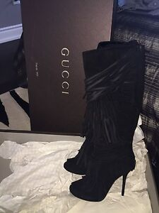 Authentic brand new in the box Gucci boots size7