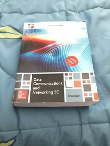 Data Communication and Networking 5E textbook