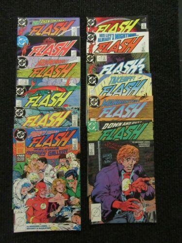 Flash #19 Thru #30  Dec 88 Onward  Lot Of 12 Higher Grade Books!! See Pics!!