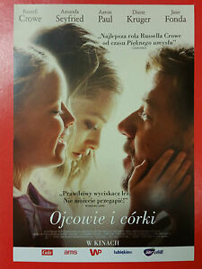 Russell Crowe Amanda Seyfried - Fathers and Daughters - Polish promo FLYER - <span itemprop=availableAtOrFrom>Gdynia, Polska</span> - Russell Crowe Amanda Seyfried - Fathers and Daughters - Polish promo FLYER - Gdynia, Polska