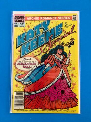 KATY KEENE SPECIAL #2 ARCHIE COMICS ROMANCE 1984 NM NEWSSTAND