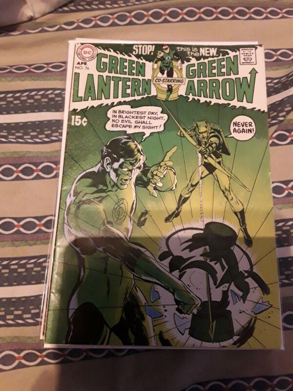 Green Lantern #76 FN+ 6.5 Neal Adams Art