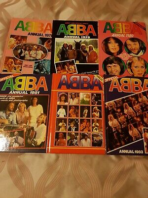 ABBA Annuals (all 6) - Excellent