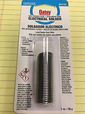 Solder Electrical Solder 40 Tin 60 Lead Lead Rosin Core Professional Grade