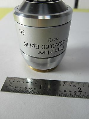 Microscope Objective Reichert Fluor 50x Polycon Dic Infinity Optics B11-dt-a