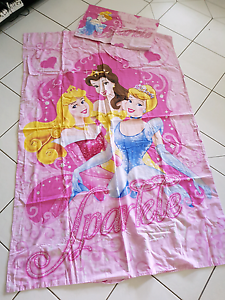 Disney princess doona cover set single bed South Maclean Logan Area Preview