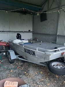 9.8 hp boat/tinny/punt for sale