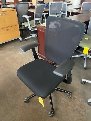 Executive Chair By Haworth Zody Fully Loaded In Black Color