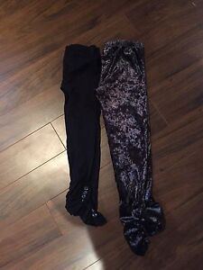 Youth girls Size 10 fancy tights.