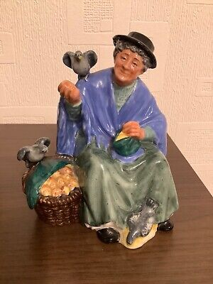 Tuppence a Bag figurine - mint condition - Royal Doulton - pigeon lady
