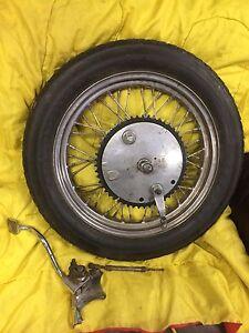 Harley wheel
