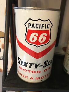 Pacific 66 oil can