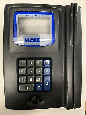 Kaba Ilco G4 Front Desk Unit - Keycard Maker Front Cover Only
