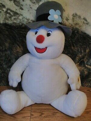 """""""GEMMY"""" FROSTY THE SNOWMAN LARGE 27"""" PLUSH - TUNE - """"FROSTY THE SNOWMAN"""""""