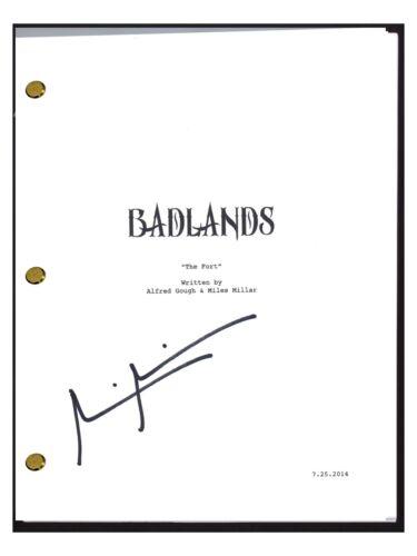 Miles Millar Signed Autographed INTO THE BADLANDS Pilot Episode Script COA