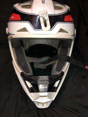 Fox Racing O'Neill Mens Dirt Bike Motocross Helmet Used Kids
