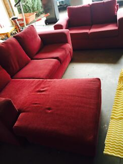 Modern 5 sitter sofa set Epsom Bendigo City Preview
