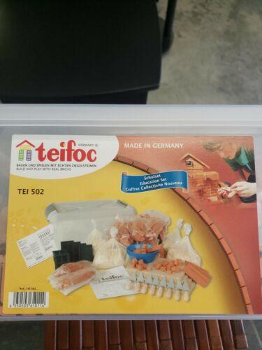 Teifoc School Education Brick Mortar Block Construction Kit TEI 502  - $159.99