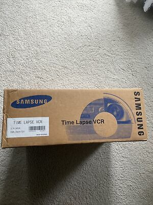 Brand New Samsung Slv-960a Time Lapse Vcr Video Cassette Recorder Never Opened