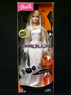Boo-tiful Barbie Doll Wiccan White Witch Halloween  (Boo-tiful Halloween Barbie)