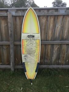 SFD HANDSHAPED SURFBOARD GOOD CONDITIONS Rye Mornington Peninsula Preview