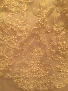Ornements appliqués pour robe de mariée