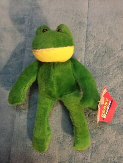 Beany Bendies- Frog. BNWT. Nic's collectables