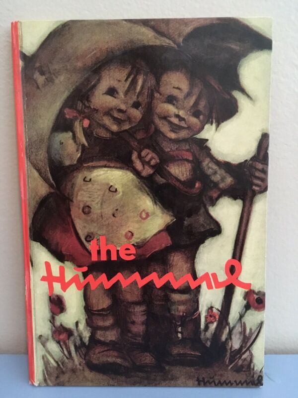 THE HUMMEL DRAWINGS BOOK BY BERTA 1972 COLLECTORS EDITION FIRST ENGLISH PRINTING