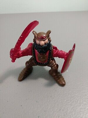 1995 Fisher-Price Great Adventurers Red Knight/Viking Figure
