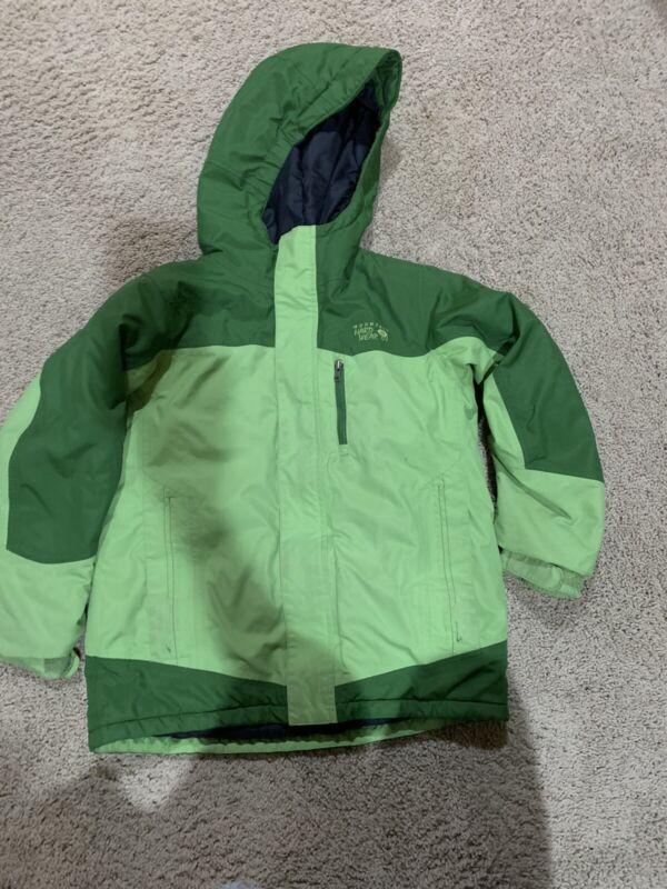 Boys Mountain Hardwear green winter  ski snowboard jacket M MEDIUM