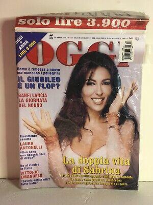Usado, OGGI Magazine #13 (Italy)- Marzo 29, 2000 - BRAND NEW - SEALED comprar usado  Enviando para Brazil