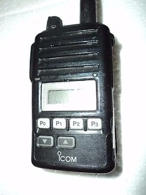 Icom F50v Vhf Portable Radio 100 Tested Free Programming Narrow Fire Pager Murs