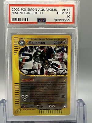 Magneton Holo - Pokemon Aquapolis Set - PSA 10 - GEM MINT 💎