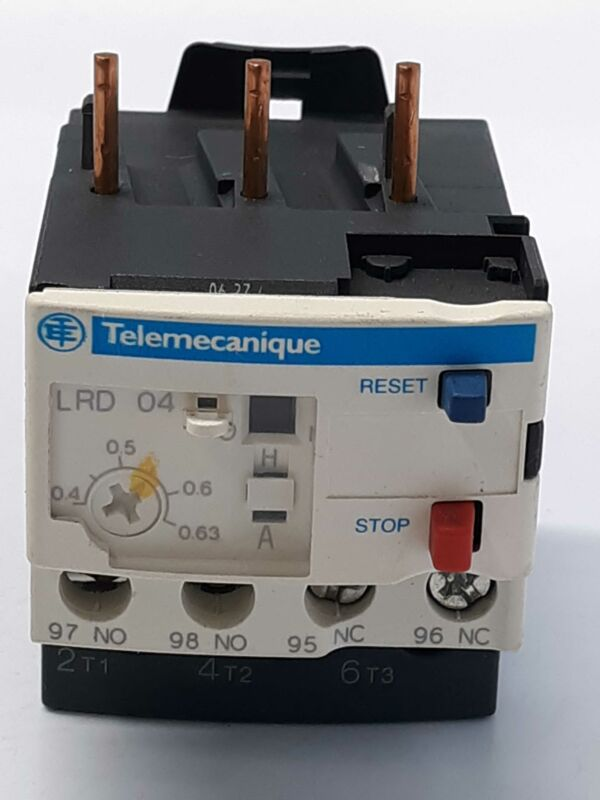 Schneider Electric LRD 04   Overload Relay 0.4-0.63 A