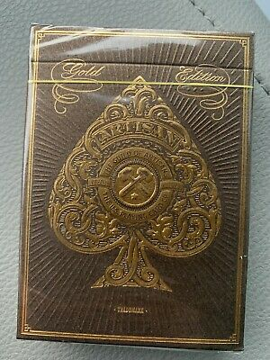 THEORY 11 Luxury Playing Cards - ARTISAN - NEW - Limited Edition GOLD