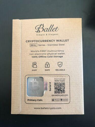 Ballet Physical Bitcoin Wallet