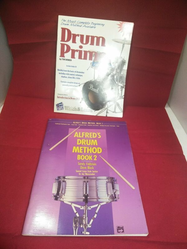2 Books That Teach How To Play The Drums