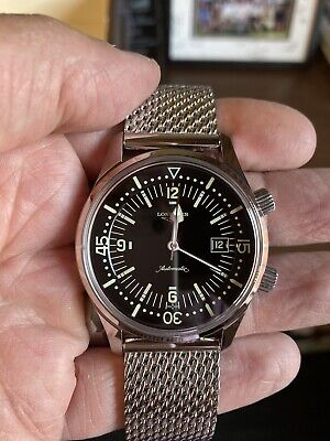 Longines Legend diver automatic winding L 3.674.4.50.6, New with AD Warranty