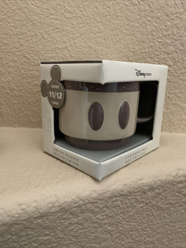 New Mickey Mouse Memories November Stackable Mug Disney Store Limited Release