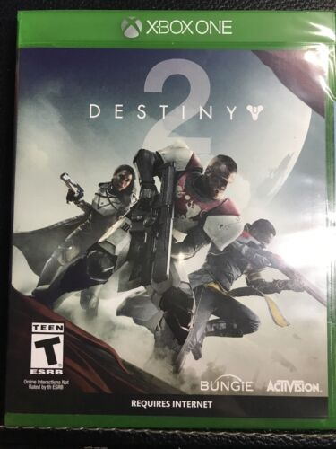 $44.99 - Destiny 2 (Microsoft Xbox One, 2017) *BRAND NEW/FACTORY SEALED* FREE SHIPPING*
