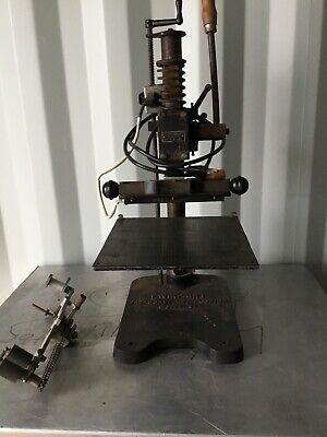 Kwikprint 86 Foil Stamping Embossing Marking Machine Press