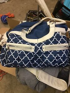 JJ cole diaper bag barely used