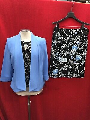"""KASPER SKIRT SUIT /NEW WITH TAG/SIZE 14/LINED/RETAIL LENGTH 24"""""""