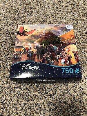 Thomas Kinkade Disney Dumbo Jigsaw Puzzle-750 PIECE