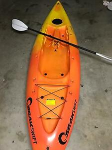 Seak swift orange kayak Springfield Lakes Ipswich City Preview