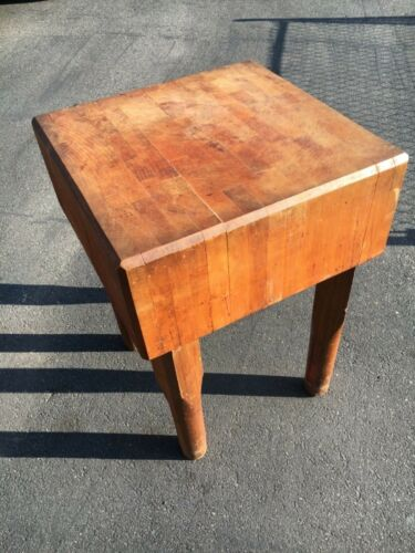 Solid wood Butcher Block table