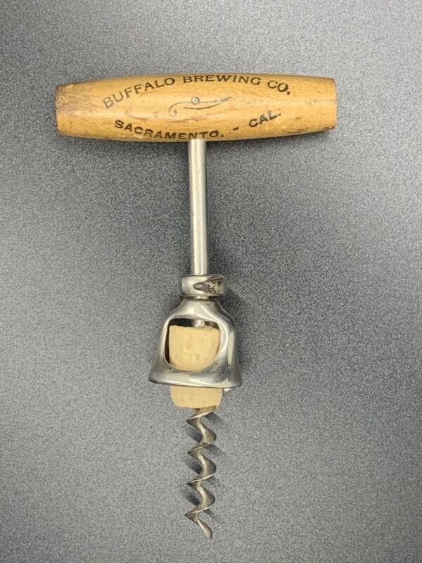 Antique Buffalo Brewing Co Sacramento California Cork Screw