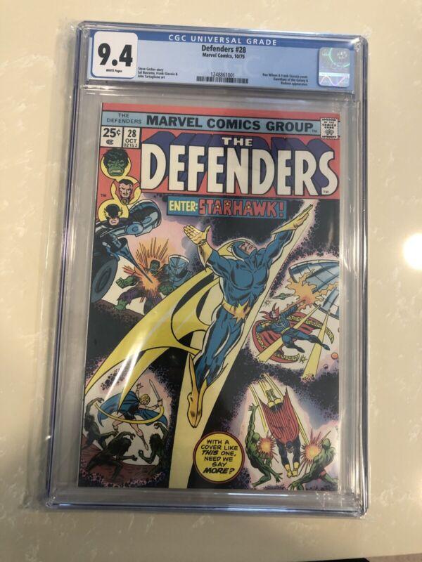 The Defenders #28 CGC 9.4