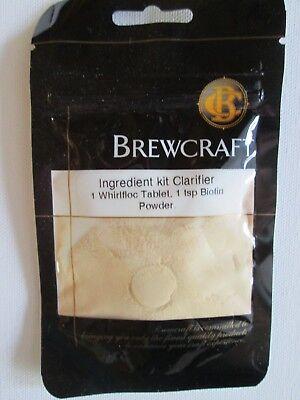 (Beer Wine Mead Clarifier Kit 1 Whirlfloc Tablet 1 Tsb Biotin Power )