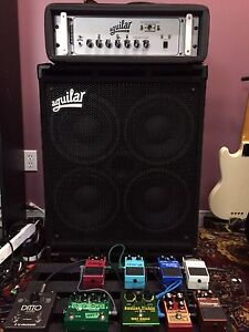 Aguilar GS410 w/ padded cover